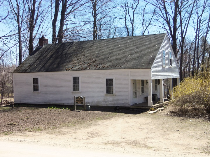 The Quaker meetinghouse in Lee, New Hampshire, doubled as a schoolhouse. Now a private residence, it was adjacent to the Cartland homestead, believed to be a stop on the Underground Railway.