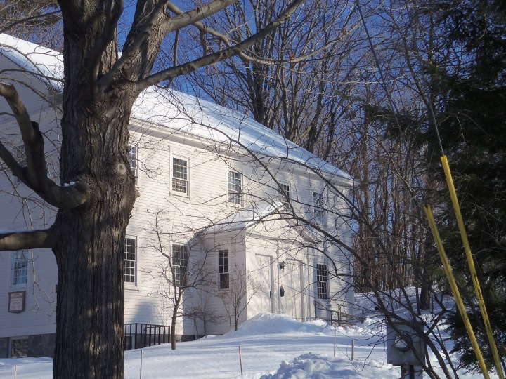 The 1768 meetinghouse is still in use.