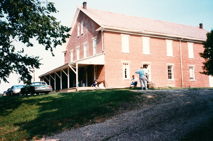 Ohio Yearly Meeting's sessions are held in the Stillwater meetinghouse in Barnesville.