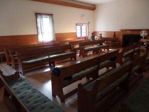The worship room