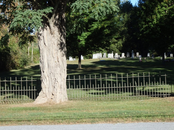Ferrisburg was once a vital meeting in Vermont. Today it is marked only by its burial ground.